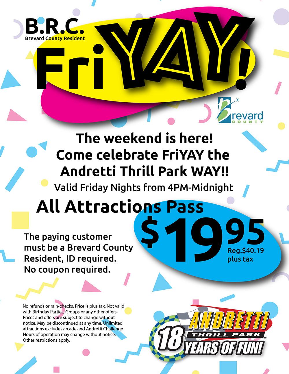 Andretti Thrill Park Specials